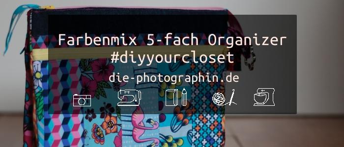 5-fach Organizer von Farbenmix