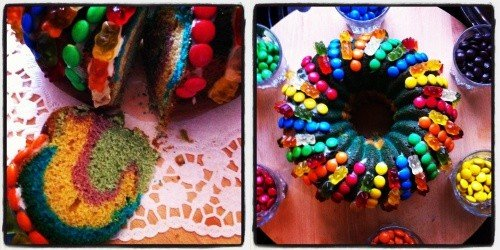 Regenbogekuchen diephotographin