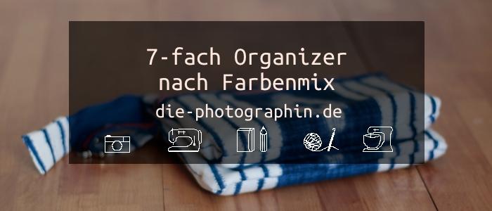 7-fach Organizer nach Farbenmix