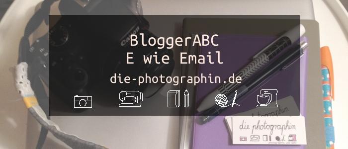 E wie Email -BloggerABC