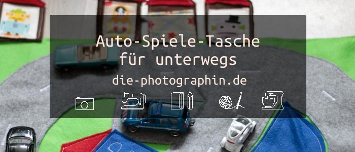 Auto-Spiele-Tasche für unterwegs