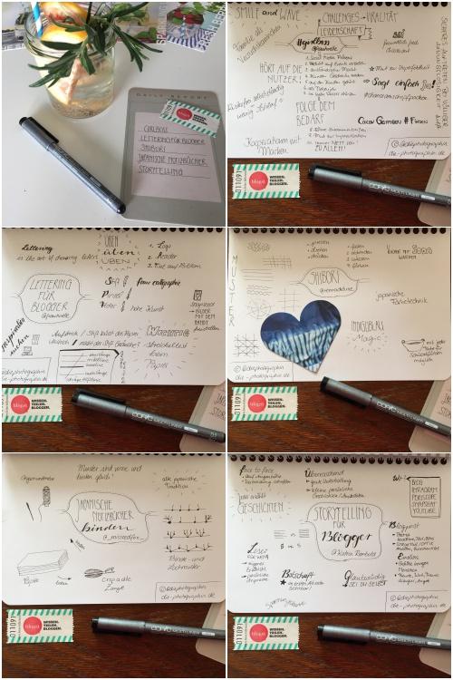 Was ist ein Barcamp- Session Mitschriften beim Blogst Barcamp - diephotographin