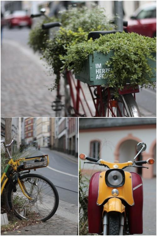 Zweiräder in der Gaustraße - Best of Mainz Photo Walk - diephotographin
