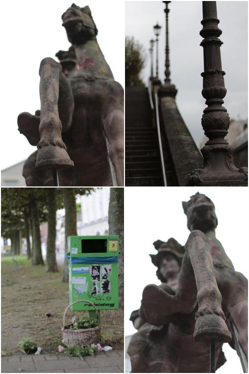 Vor der Kupferberg-Sektkellerei in Mainz - Best of Mainz Photo Walk - diephotographin