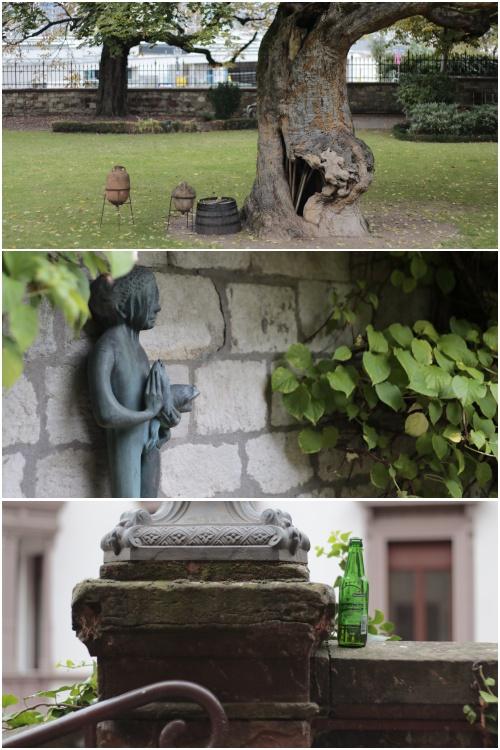 Im Hof der Kupferberg-Sektkellerei in Mainz - Best of Mainz Photo Walk - diephotographin