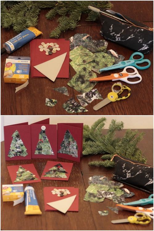 DIY Foto Weihnachtskarte - alle Bastelzutaten - diephotographin