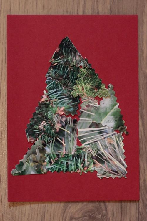 DIY Foto Weihnachtskarte - Karte ohne Knöpfe - diephotographin