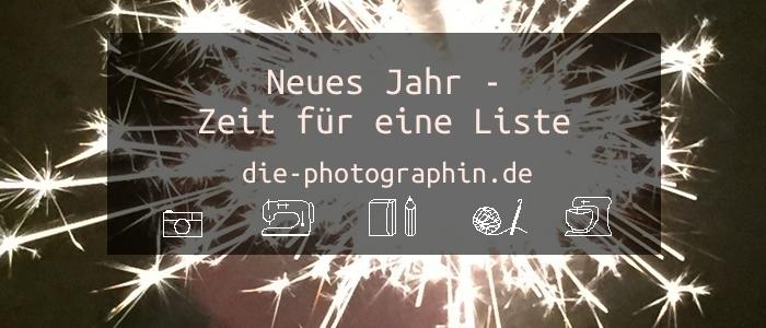 Neues Jahr – Zeit für eine Liste