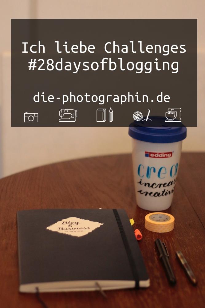 #28daysofblogging Bild für Pinterest von diephotographin