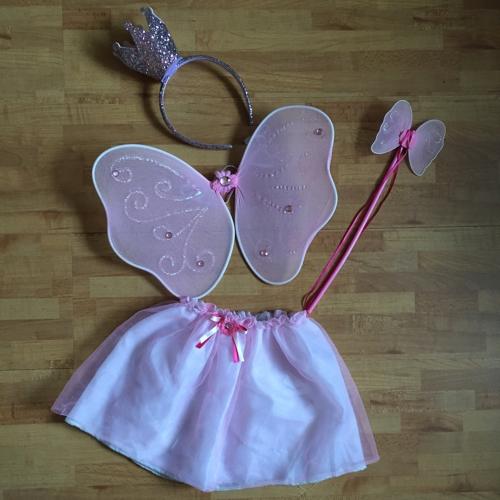 Glitzerndes rosa Feenkostüm - #aufstehenfuerunserekinder - diephotographin