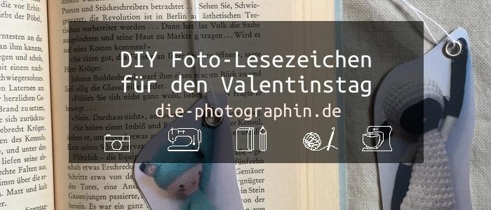 DIY Foto-Lesezeichen als schnelles Valetinstaggeschenk