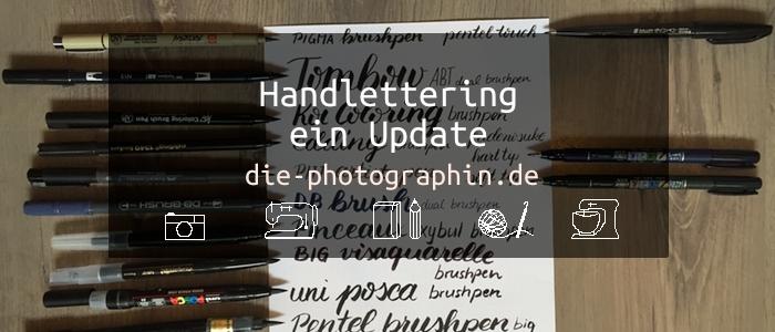 Handlettering – ein Update