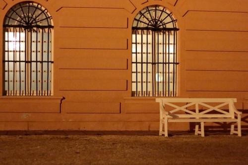 Das Schloss Biebrich in Wiesbaden - #fotoprojekt17 - nachts - diephotographin