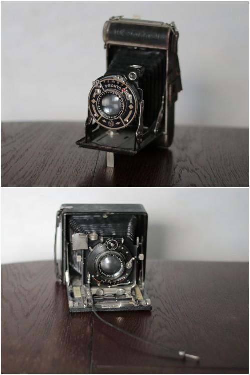 Zwei alte Balgen-Kameras, geerbt von meinem Opa - Sammelleidenschaft alte Kameras - diephotographin