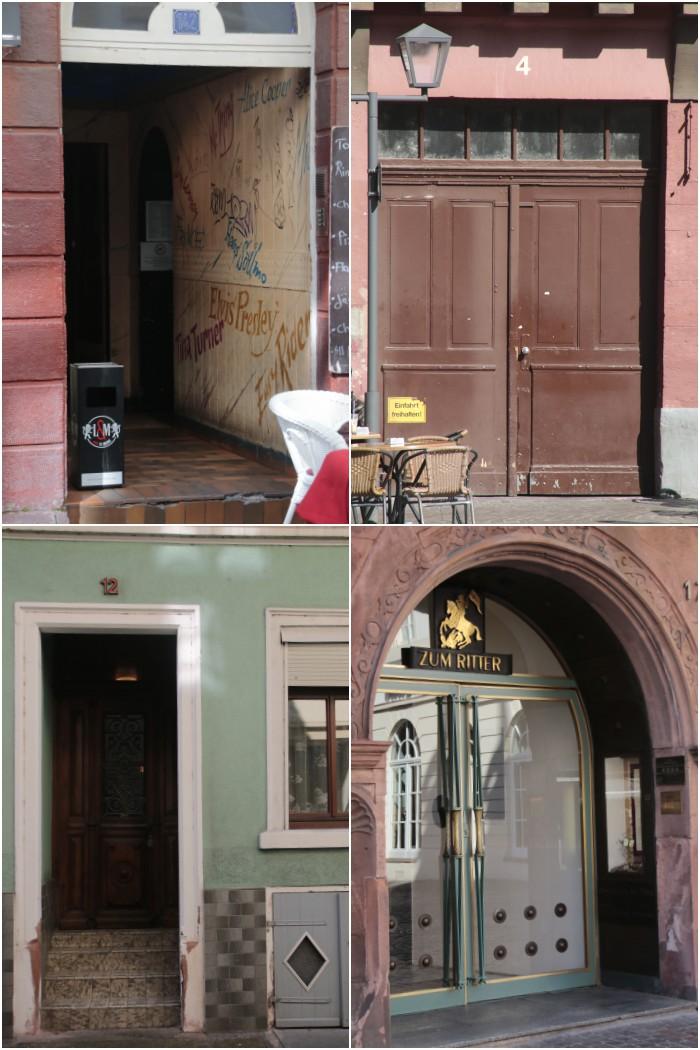 Heidelberger Türen für das #fotoprojekt17 von diephotographin