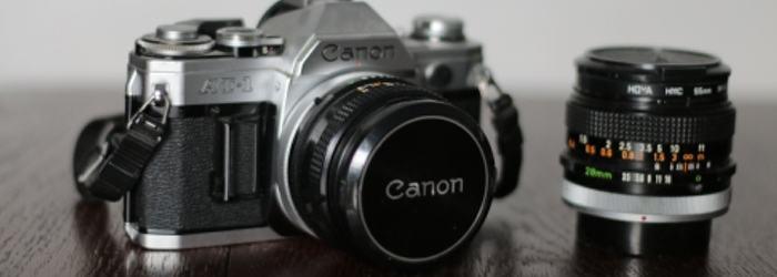 Meine erste Kamera eine Canon AT-1.