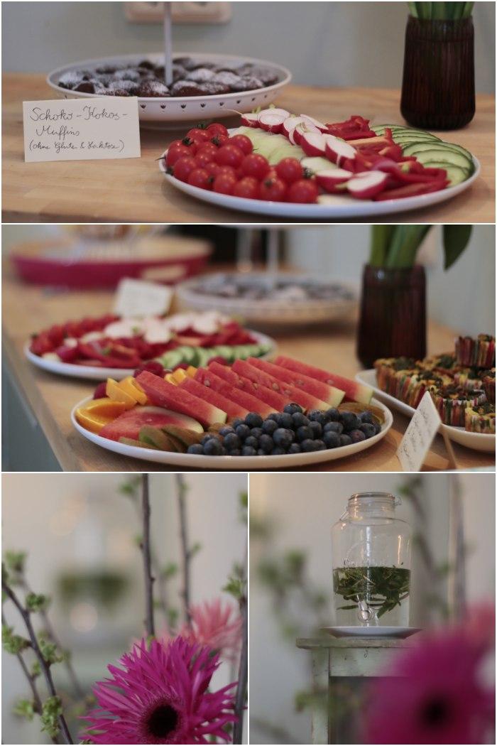 Kleiner Snack für zwischendurch im Studio von Julia Imhoff - feine Fotografie beim Blogger Breakfast Go local in Wiesbaden - diephotographin