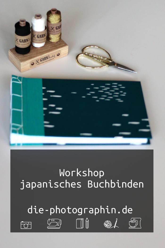 Workshop japanisches Buchbinden mit Miss Red Fox bei Pixum - diephotographin