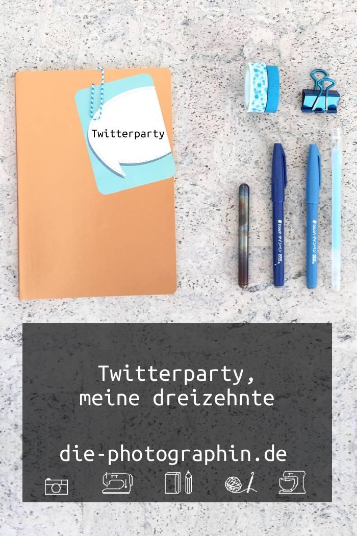 Zusammenfassung meiner dreizehnten Blogst Twitterparty - diephotographin