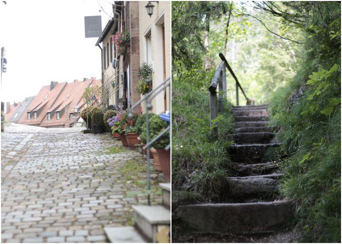 Ruhige Orte in Nürnberg unterhalb der Kaiserburg und im Wald unterhalb vom Wendelstein - Mein Sommer Blogparade - diephotographin