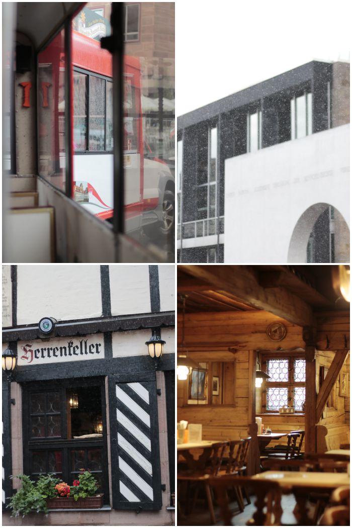 Fahrt mit der Bimmelbahn, vorbei am Germanischen Nationalmuseum, am Böhms Herrenkeller und Einkehr im Bratwursthäusle bei St. Sebald - Kultur in Nürnberg - mein Sommer Blogparade - diephotographin
