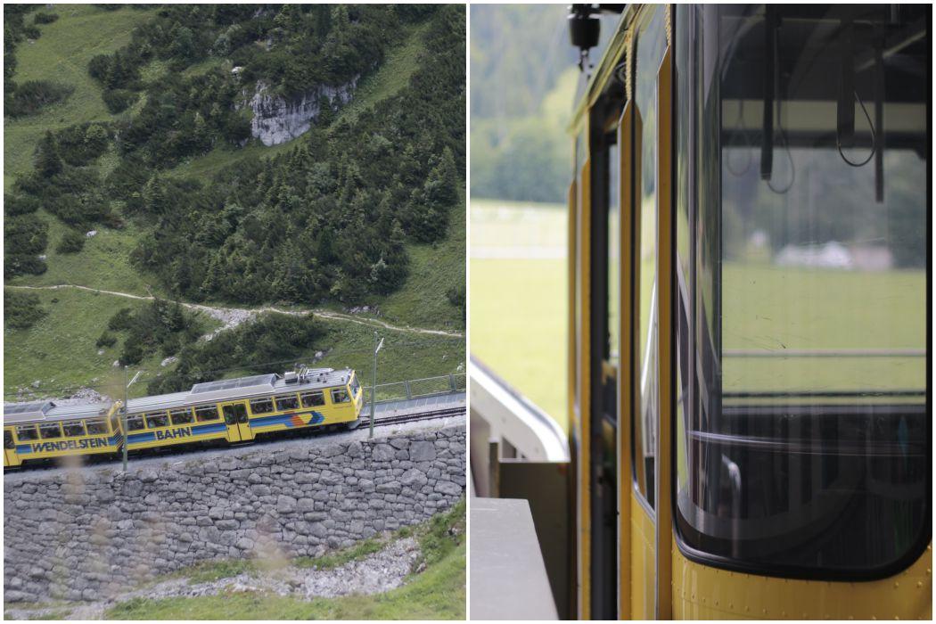 Increase Creativity Challenge Juli - Farbe gelb - Wendelstein Bahn und Seilbahn - diephotographin
