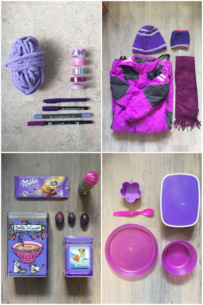 DIY | Winter | Essen | Küche - Fotoaktion Farbblick Farbkette - die Farbe Lila - diephotographin