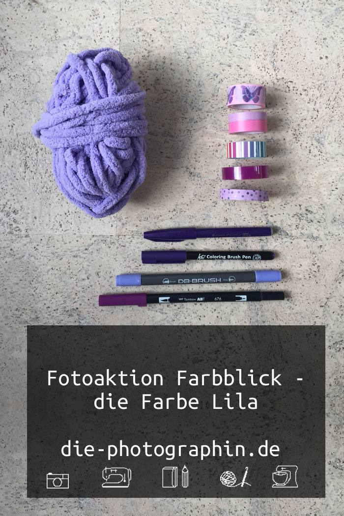 Fotoaktion farbblick farbe lila diephotographin for Die farbe lila