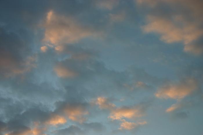 Rosa Wolken beim Sonnenuntergang - #fotoprojekt17 - diephotographin