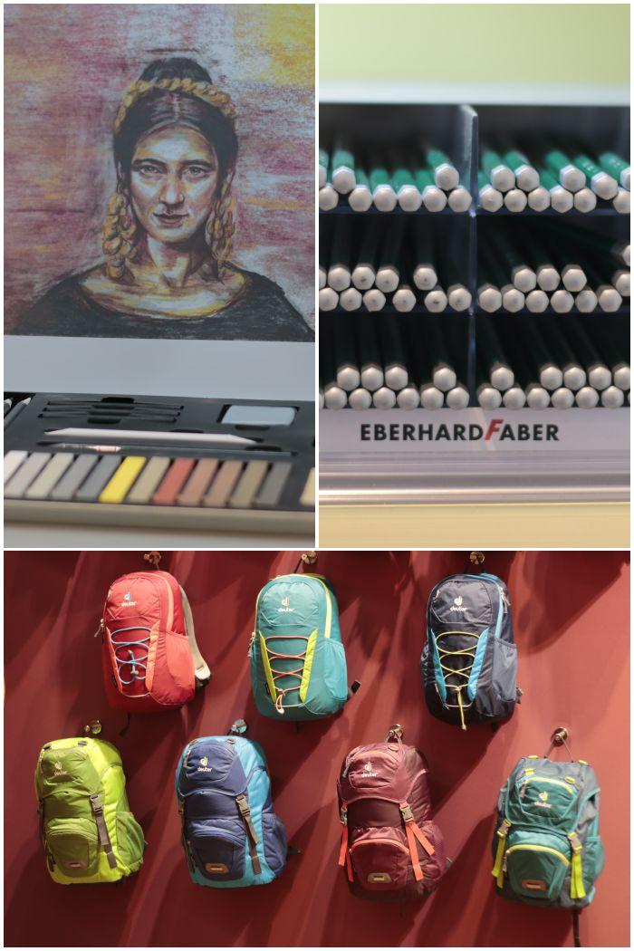 Bloggertour auf der Insights-X in Nürnberg - die Stände von Eberhard Faber und Deuter - diephotographin