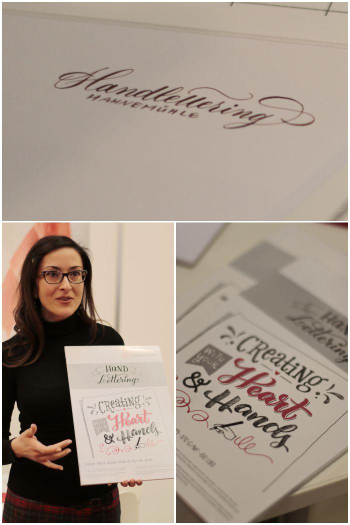 Bloggertour auf der Insights-X in Nürnberg - der Stand von Hahnemühle - diephotographin