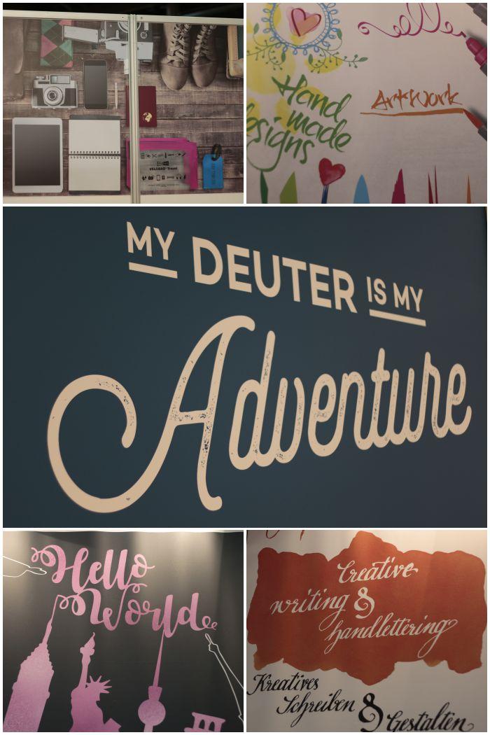 Bloggertour auf der Insights-X in Nürnberg - Stände mit schöner Typografie und Flatlay-Fotos - diephotographin