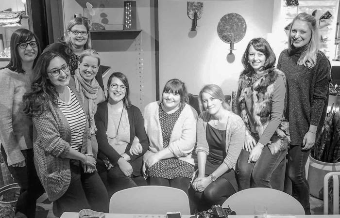 Alle Teilnehmer des Blogger Breakfast Go local im Midsommar mit DIY Adventskranz basteln - diephotographin