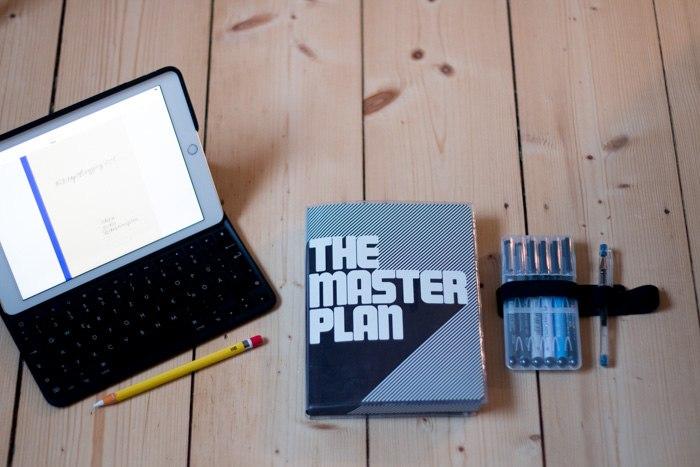 #28daysofblogging - analoge (Nuuna Notizbuch - mein Blog + Business Bullet Journal) und digitale (iPad und Pencil) Planungstools, denn Planung ist ja bekanntlich alles - diephotographin