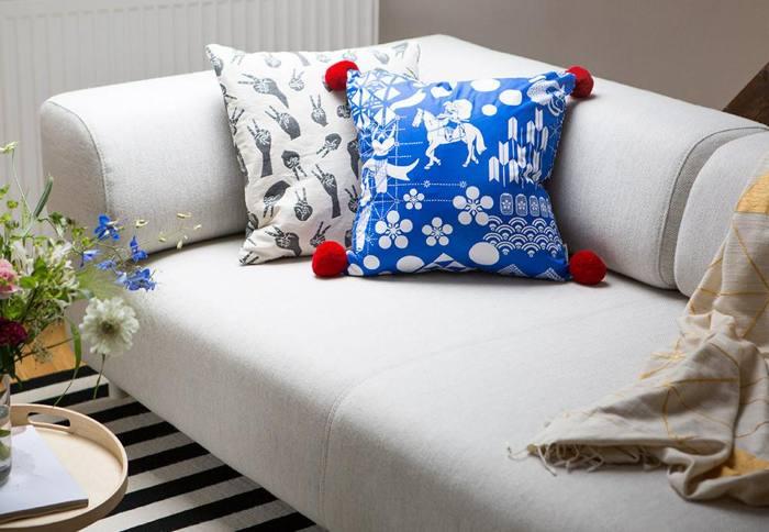 Festival Cushion Cover - Indian Goods Co. (mit Klick aufs Bild landet ihr auf der Produkteseite) - Foto: © Jonas Lenger (https://www.instagram.com/jonaslenger/)