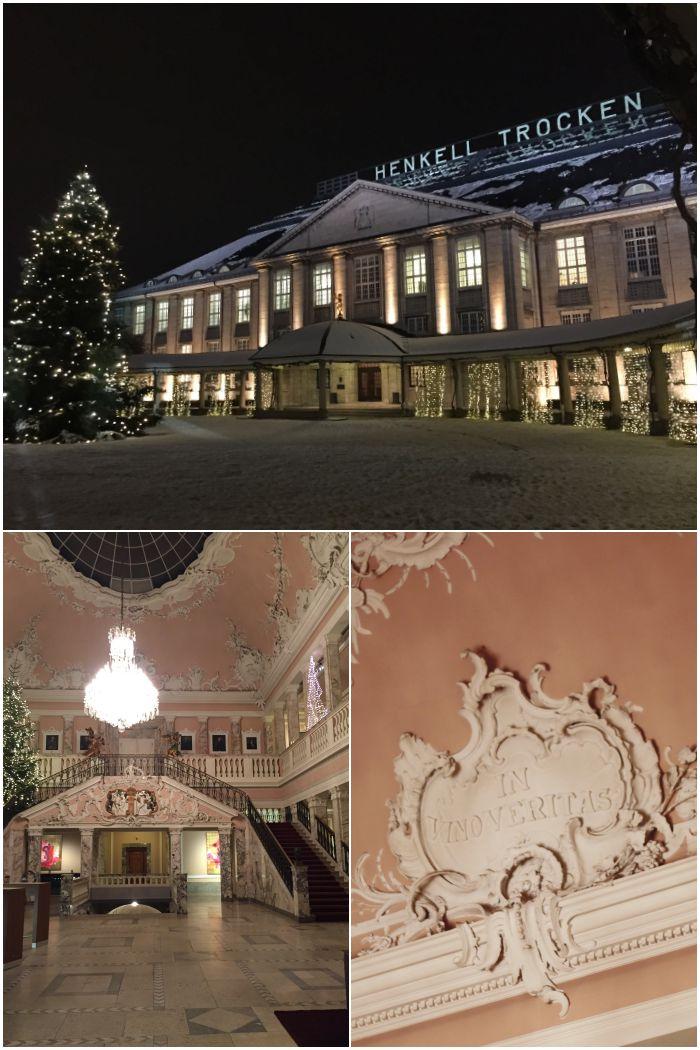Henkell Sektkellerei in Wiesbaden von außen und der Marmorsaal - diephotographin