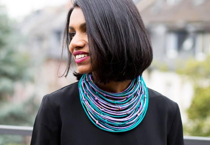 Sari String Necklace - Indian Goods Co. (mit Klick aufs Bild landet ihr auf der Produkteseite) - Foto: © Jonas Lenger (https://www.instagram.com/jonaslenger/)