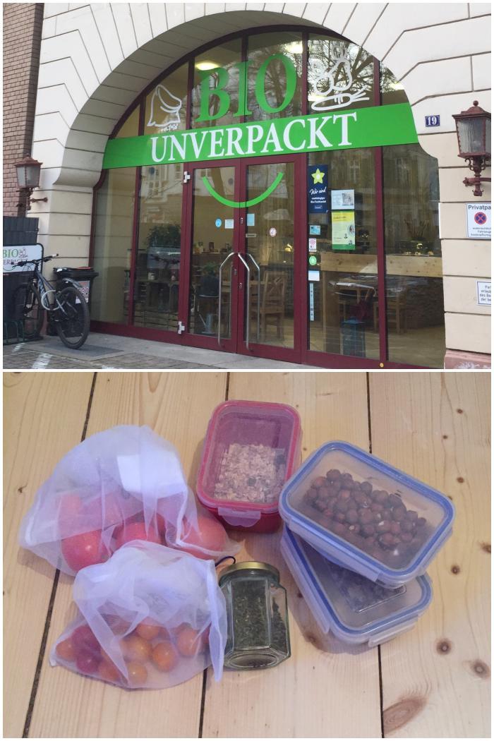 Erster Einkauf zu Beginn der Fastenzeit im Unverpackt Laden in Wiesbaden - Fastenzeit - Plastikfrei  - diephotographin