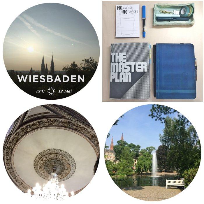 Sonnenaufgang, #meetthebloggerde Challenge, Villa Clementine und der Teich am warmen Damm in Wiesbaden - 12 von 12 Mai 2018 - diephotographin