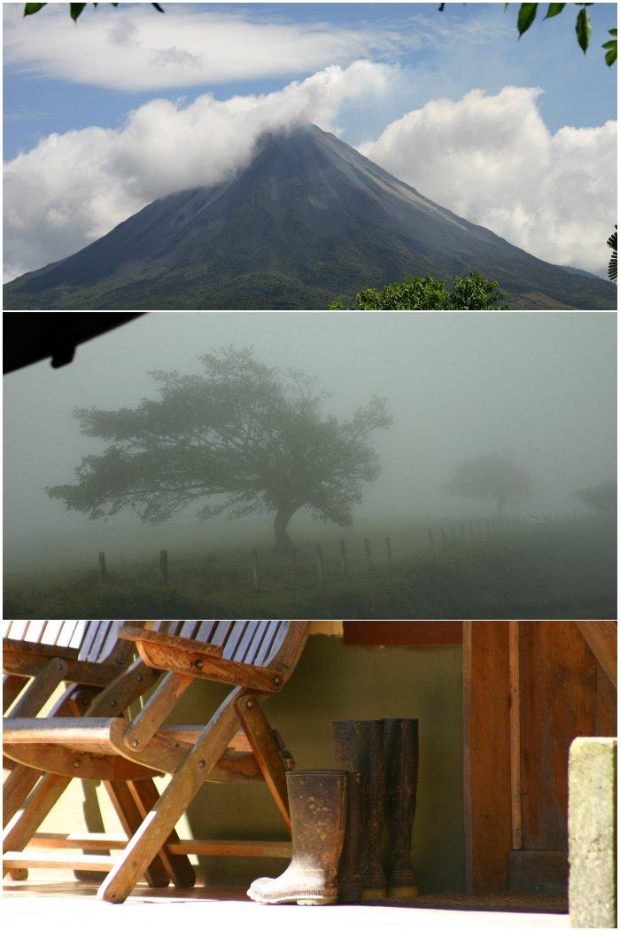 Vulkan Arenal, der Weg nach Monteverde, eine Unterkunft in Monteverde in Costa Rica 2009/2010 - diephotographin