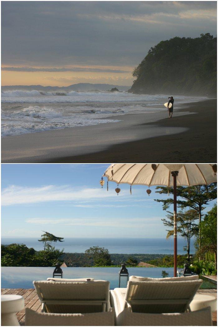 Playa Hermosa und die Unterkunft in Uvita in Costa Rica 2009/2010 - diephotographin