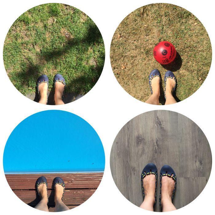 Meine Füße im Garten, beim Fußball, am Wasser und wieder zuhause - 12 von 12 August 2018 - diephotographin