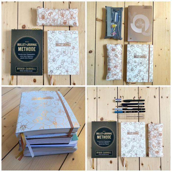 """Das Buch """"Die Bullet Journal Methode"""" von Ryder Carroll und meine alten und mein aktuelles Bullet Journal  - Bullet Journal 101 - Increase Creativity"""