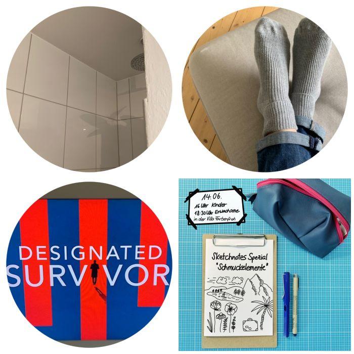 Duschen, ab auf die Couch und weiter Designated Survivor schauen - 12 von 12 Juni 2019 - Increase Creativity