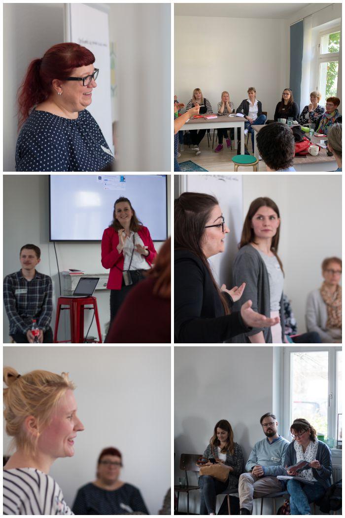 Bilder aus einigen Sessions beim 2. SoMeMaBC - Increase Creativity