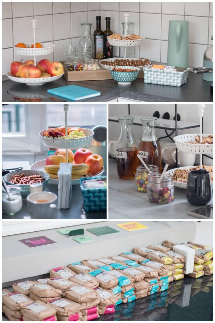 Die Verpflegung beim 2. SoMeMaBC - Sandwiches, Snacks und Getränke - Increase Creativity