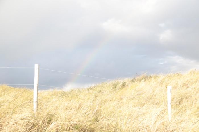 Im November am Strand zwischen zwei Regenschauern - Increase Creativity