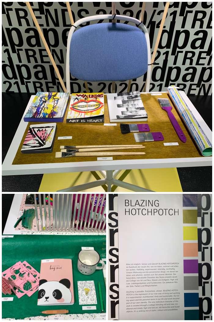 Paperworld Trend 2020 - Blazing Hotchpotch - Increase Creativity